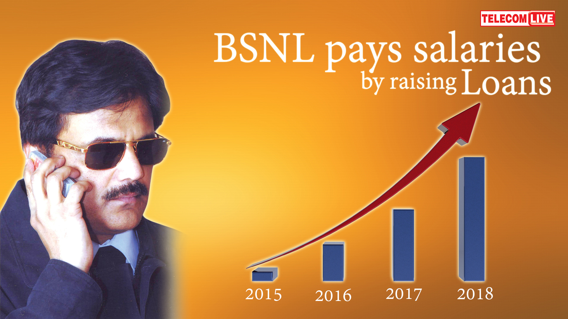 BSNL pays salaries by raising loans - Rs 10,000 cr in 4 years